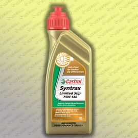 75W140 Castrol SYNTRAX LIMITED SLIP 1L трансм.масло